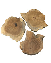 @Natural Wood Slice - each