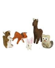 Felt Woodland Animals - 5pcs