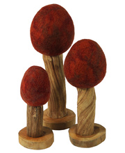 @Felt Wooden Trees - Autumn - 3pcs