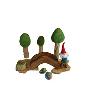 Natural Woodland Forest Scene - Summer Set 10pcs