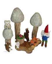 *Natural Woodland Forest Scene - Winter Set 11pcs