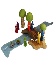 *Natural Woodland Forest Scene - Spring Set 15pcs