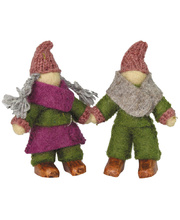 Woodland Felt People - Green 2pcs