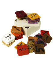 Felt Indigenous Symbol Set - 36pcs