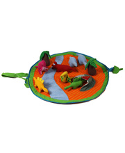 Cotton Animal Play Pouch Set - Dinosaur