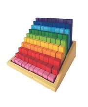 Bauspiel Stepped Blocks - 100pcs