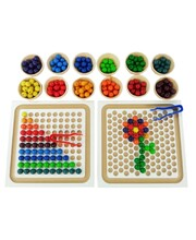 Bauspiel Bead Board Set - 256pcs