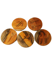 Natural Mahogany Indigenous Tracking Set - 5pcs