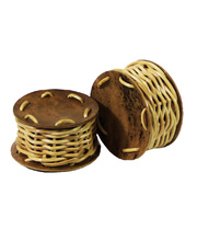 Natural Multicultural Instrument - Caxixi Rattle Pair