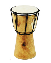 Hand Carved Bongo Drum - 20cm