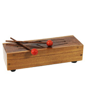 Wooden Tongue Drum - 31.5cm