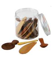 Wooden Spoon Set - In Portable Play Jar 21pcs