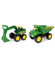 John Deere Large Construction Vehicles - Set of 3