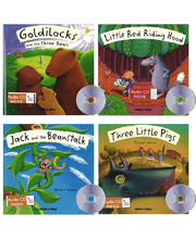 Flip-Up Fairy Tale Book & CD - Set 1