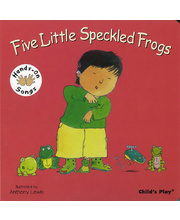 Baby Signing Board Books - Five Little Speckled Frogs