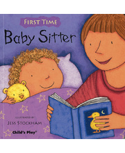 First Time Board Book - Baby Sitter
