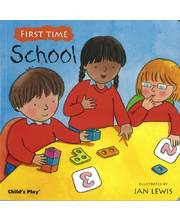 First Time Board Book - School