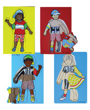 Louise Rayner 3 Layer Puzzles - Set of 4 Children
