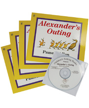 Alexander's Outing - CD and 4 Book Set