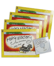 Hairy Maclary - CD and 4 Book Set