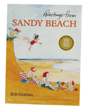 Greetings From Sandy Beach - Book Only