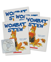 Wombat Stew - CD and 4 Book Set