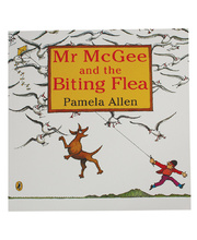 Mr McGee and the Biting Flea - Book only