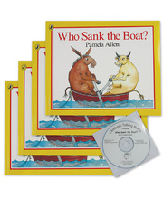 Who Sank the Boat? - CD and 4 Book Set