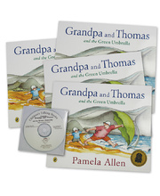 Grandpa and Thomas and the Green Umbrella - CD and 4 Book Set
