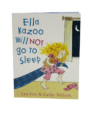 Ella Kazoo Will Not Go To Sleep - Book only