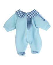 *Doll Clothes for 32cm Doll - Blue Rompers
