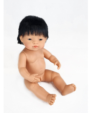 Baby Doll 38cm - Asian Boy