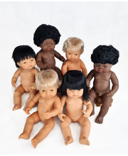 Baby Doll 38cm - Set of 6 (3 Boys & 3 Girls)
