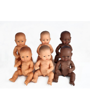 Baby Doll 32cm - Set of 6 (3 Boys & 3 Girls)