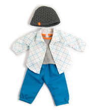 Doll Clothes for 38cm Doll - Overalls & Hat