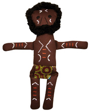 Indigenous Doll - Aboriginal Warrior