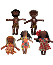 Indigenous Doll - Set of 5