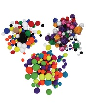 Pom Poms - Super Value Pack 800pk