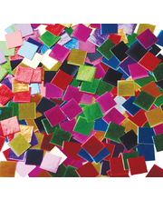 Paper Mosaic Squares 10,000pk - Metallic Assorted 250g