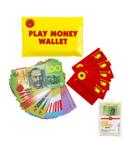 Play Money Activity Wallet - 106pcs
