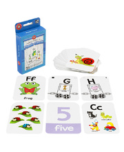 LCBF Alphabet & Numbers Flashcards 1 to 10 - 65pcs