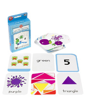 LCBF Colours, Shapes & Early Numbers Flashcards - 65pcs