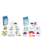 Early Learning Flashcards Set - 130pcs