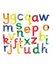 Squashy Lowercase Letters - 26pcs