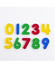Acrylic Rainbow Numbers - Set of 10