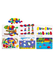 Rainbow Pebbles Activity Set - 60pcs
