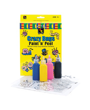 *SPECIAL: Crazy Bugs Paint and Peel