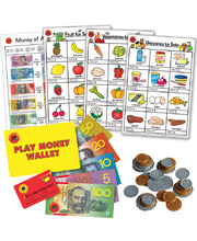 Play Money & Poster Super Set - 216pcs