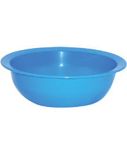 Children's Plastic Feeding Bowl - 16cm 4pk