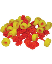 Mobilo Connectors & Wheels - 78pcs